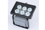LED washer with 6 x 1W LEDs