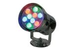 PAR 36 RGB LED DMX Pinspot 9 x 1W