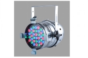 PAR 64 RGB LED DMX Master & Slave 24 x 1W